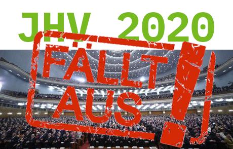 Artikelbild zu Artikel Verschiebung der Mitgliederversammlung 13.03.2020