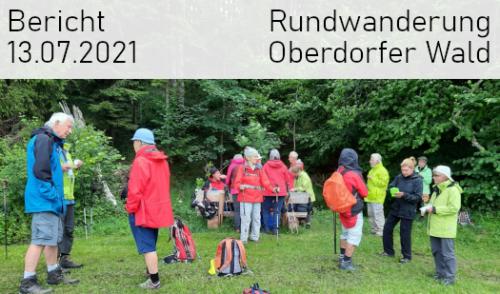 Artikelbild zu Artikel Rundwanderung Oberdorfer Wald